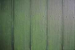 Hölzerner grüner Hintergrund Stockbild