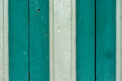Hölzerner grüner weißer Hintergrund Stockfoto