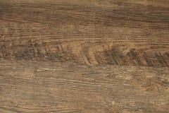 Hölzerner Hintergrund Alte hölzerne Beschaffenheit Hölzerner Planken-Korn-Hintergrund Gestreifter Bauholzschreibtischabschluß obe Lizenzfreie Stockfotos