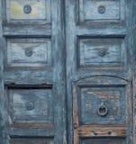 Hölzerner Hintergrund, alte Tür, Weinlese Lizenzfreie Stockfotos