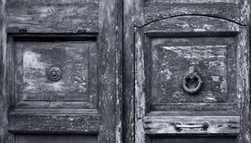 Hölzerner Hintergrund, alte Tür, Weinlese Lizenzfreies Stockbild