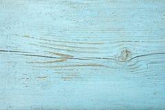 Hölzerner Hintergrund der Beschaffenheit Alte Bretter gemalte blaue Farbe Stockbild