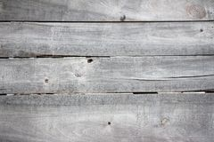 Hölzerner Hintergrund des Schmutzes von alten grauen unbemalten Brettern Lizenzfreies Stockbild