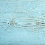 Hölzerner Hintergrund Gemalte blaue Farbe der Beschaffenheit alte Bretter Lizenzfreie Stockbilder