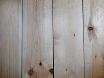 Hölzerner Hintergrund Helle vertikale Planken Stockbild