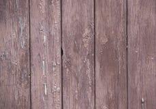 Hölzerner Hintergrund mit abgezogen von der Farbe Lizenzfreie Stockfotografie