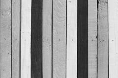 Hölzerner Hintergrund Schwarzweiss-Ton Lizenzfreies Stockbild
