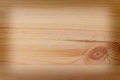 Hölzerner Hintergrund von den Planken mit Knoten, hölzernes Brett mit vigne Lizenzfreie Stockfotos