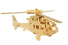 Hölzerner Hubschrauber stockbilder