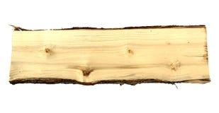 Hölzerner Klotz als Brennholz stockbild