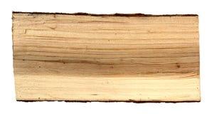 Hölzerner Klotz als Brennholz lizenzfreie stockbilder