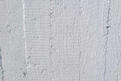 Hölzerner Kornabdruck auf Wand Stockfoto
