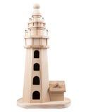 Hölzerner Leuchtturm Stockfotos