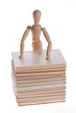 Hölzerner Mannequinmann von Ikea-gestalta Stockfoto