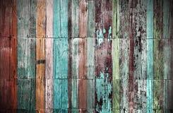 Hölzerner materieller Hintergrund für Weinlese Lizenzfreie Stockfotografie