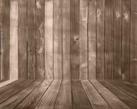 Hölzerner Planke-Hintergrund-Hintergrund mit Fußboden stockbild