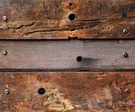 Hölzerner Plankebraun-Beschaffenheitshintergrund Stockbild