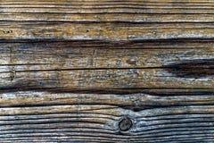 Hölzerner Plankenabschluß herauf Beschaffenheitsfoto Stockbild