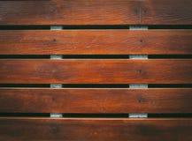 Hölzerner Plankenboden Stockfoto