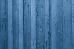 Hölzerner Plankenhintergrund Airy Blues Blaue hölzerne Wandbeschaffenheit stockbild