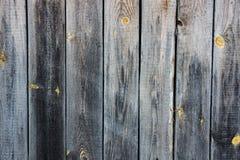 Hölzerner Plankenzaun Stockfotos