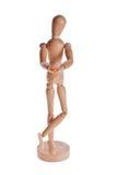 hölzerner Puppen- oder Mannequinmann von Ikea-gestalta Lizenzfreie Stockbilder