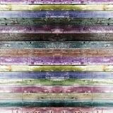 Hölzerner Raum der multi Farbe Lizenzfreie Stockbilder