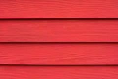 Hölzerner roter Hintergrund Stockfotografie