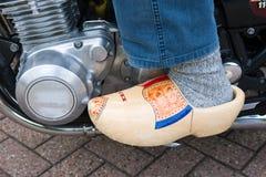 Hölzerner Schuh Stockbilder