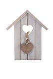 Hölzerner Toy Bird House Stockbild
