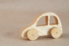 Hölzerner Toy Car stockbilder