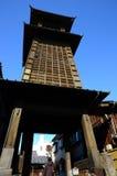 Hölzerner Turm Stockfotografie