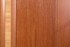 Hölzerner und Bambushintergrund Lizenzfreies Stockbild