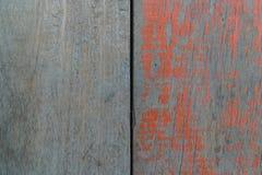 Hölzerner und farbiger hölzerner Hintergrund, Boden des Fischerbootes Stockfotografie