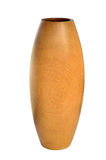 Hölzerner Vase konzipiert in der modernen Art Lizenzfreie Stockbilder
