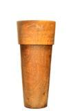 Hölzerner Vase konzipiert in der modernen Art Stockbilder