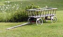 Hölzerner Wagen Stockfotos