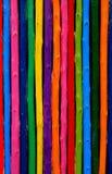 Hölzerner Wandhintergrund der Farbe Lizenzfreie Stockfotos