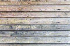 Hölzerner Wandhintergrund der Weinlese Lizenzfreie Stockbilder