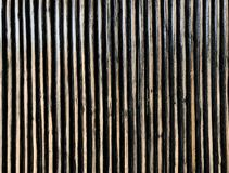 Hölzerner Wandhintergrund, vertikale Streifen Stockbilder
