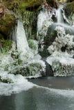 Hölzerner Wasserfall Lizenzfreie Stockbilder