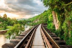 Hölzerner Zweiter Weltkrieg der Eisenbahn Geschichts Stockfotografie