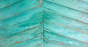 Hölzernes Abstellgleis Stockbild
