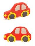 Hölzernes Autopuzzlespiel Lizenzfreies Stockbild