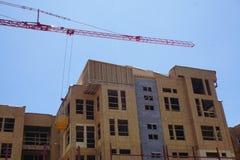 Hölzernes Bau-Gebäude Lizenzfreie Stockfotos