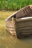 Hölzernes Boot lizenzfreie stockbilder