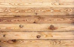 Hölzernes braunes Korngefüge, Draufsicht des hölzernen Wandhintergrundes des Holztischs lizenzfreie stockbilder