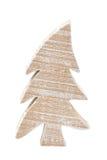 Hölzernes christmastree Lizenzfreie Stockfotos