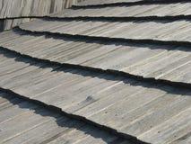 Hölzernes Dach Stockfotografie