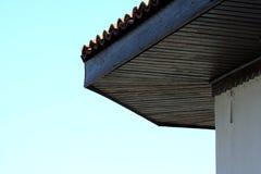Hölzernes Dach Stockbild